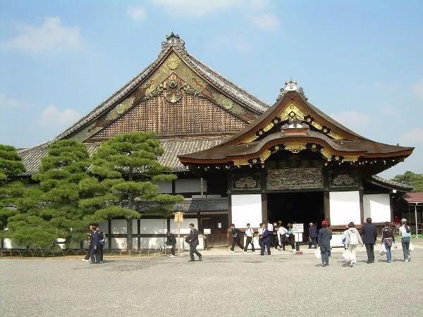 El Castillo Nijo de Kioto