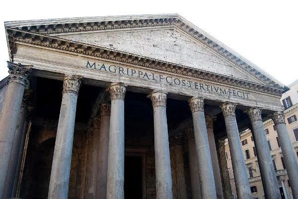 El Panteón de Marco Agripa en Roma