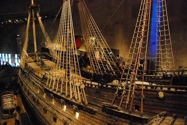 El impresionante buque de guerra Vasa