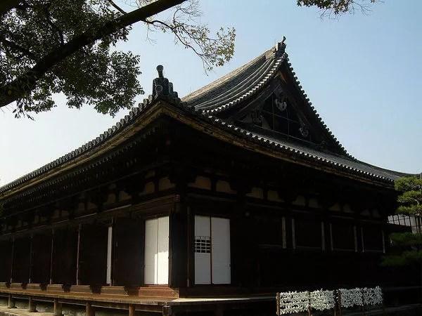El templo Sanjusangen-do de Kioto