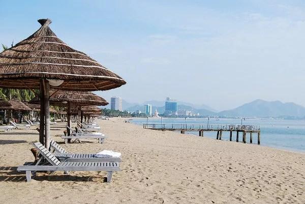 Embarcadero de la playa de Nha Trang
