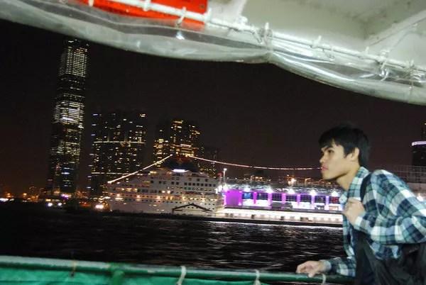 En el mítico Star Ferry de Hong Kong