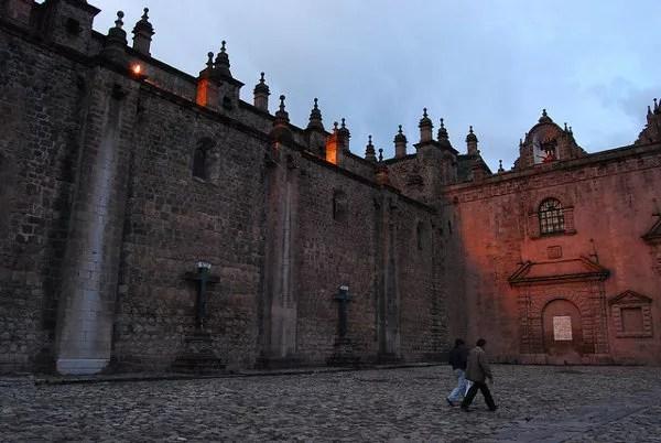 Exteriores de la Catedral del Cusco