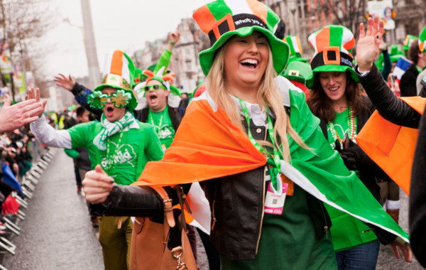 Foto de San Patricio en Irlanda, desfile en Dublín