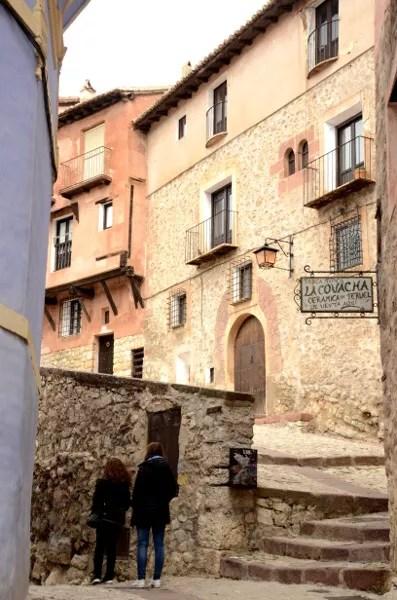Fotos Albarracin, Teruel - escaleras