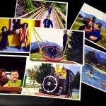 Fotos Austria con niños en papel