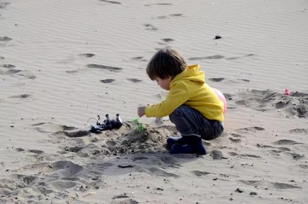 Fotos Benicassim, niño en la playa