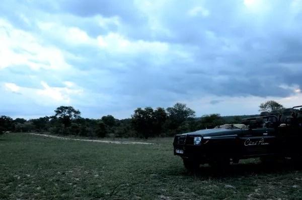 Fotos Cheetah Plains en el Kruger de Sudafrica, coche