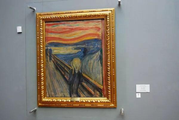 Fotos Oslo, El grito de Edvard Munch en Noruega
