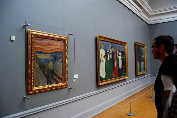 Fotos Oslo, El grito de Edvard Munch
