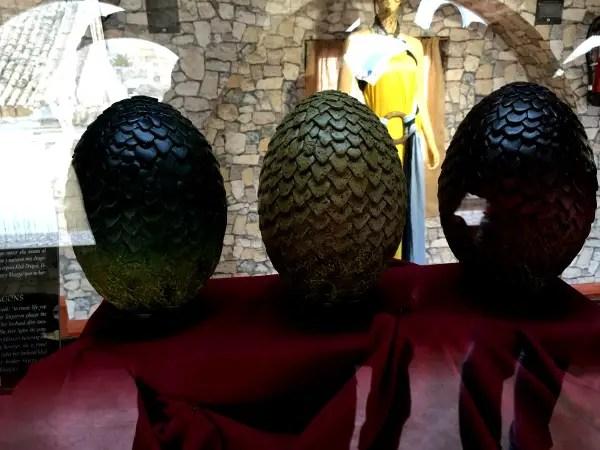 Fotos Osuna Museo Juego de Tronos, huevos de dragon