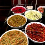Fotos Turkish Ailines clase business, Lounge Estambul comida