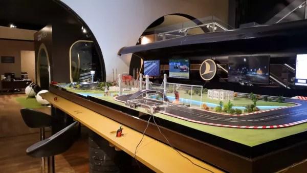 Fotos Turkish Ailines clase business, Lounge Estambul slot