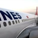 Fotos Turkish Ailines clase business, entrando al avion