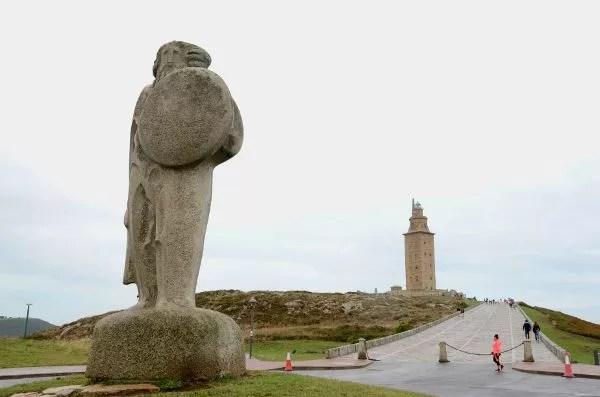 Fotos de A Coruña, Torre de Hércules y Breogán