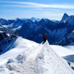 Fotos de Aiguille du Midi en Francia, valientes