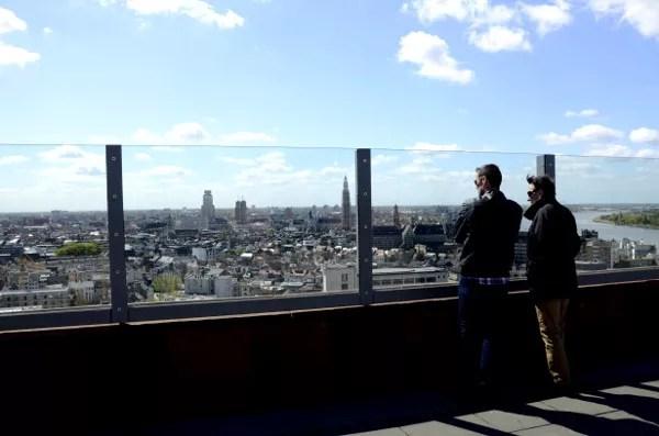 Fotos de Amberes, MAS Museum aan de Stroom mirando la ciudad