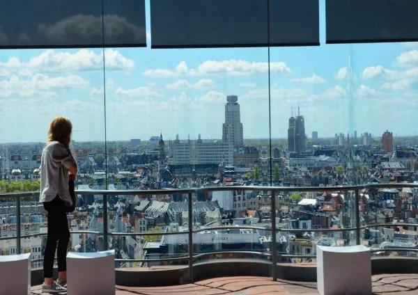 Fotos de Amberes, MAS Museum aan de Stroom vistas desde dentro