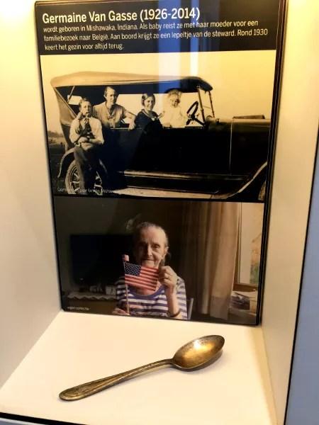 Fotos de Amberes, Red Star Line Museum cuchara