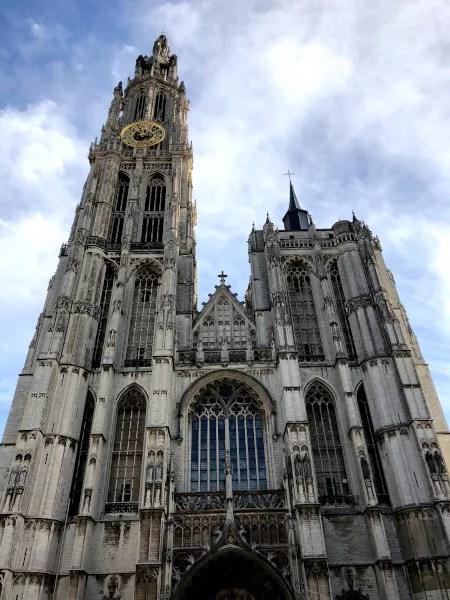 Fotos de Amberes en Flandes, Catedral de Nuestra Senora