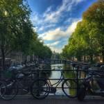 Fotos de Amsterdam, canales y muchas bicicletas