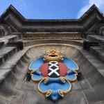Fotos de Amsterdam, escudo en la Westerkerk