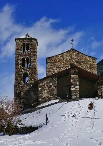 Fotos de Andorra, Iglesia de Sant Joan de Caselles