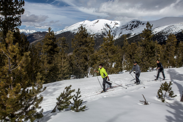 Fotos de Andorra, esqui de fondo