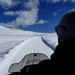 Fotos de Andorra, moto de nieve