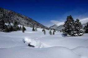 Fotos de Andorra, paisajes Grau Roig en invierno