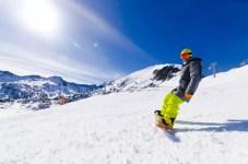 Fotos de Andorra, snowboard en Soldeu Grandvalira