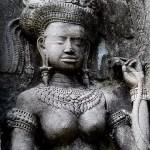 Fotos de Angkor, Apsara en Angkor Wat