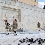 Fotos de Atenas en Grecia, Cambio de guardia de los Evzones