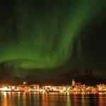 Fotos de Auroras Boreales en Noruega, Svolvær en Lofoten