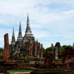 Fotos de Ayutthaya en Tailandia, Wat Phra Sri Sanphet pagodas