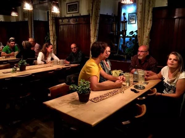 Fotos de Bamberg, ambiente de cava de cerveza