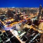 Fotos de Bangkok en Tailandia, vistas desde el Sirocco Bar