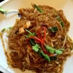 Fotos de Bangkok. Qué comer, pad thai picante
