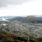 Fotos de Bergen, Monte Ulriken vistas