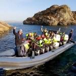 Fotos de Bergen en Noruega, navegando por los fiordos en invierno
