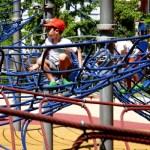 Fotos de Bilbao, Teo jugando en el parque