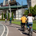 Fotos de Bilbao, ruta en bici