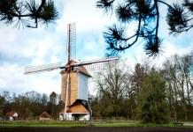 Fotos de Bokrijk en Flandes, molino