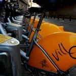 Fotos de Bruselas, bicicletas de alquiler
