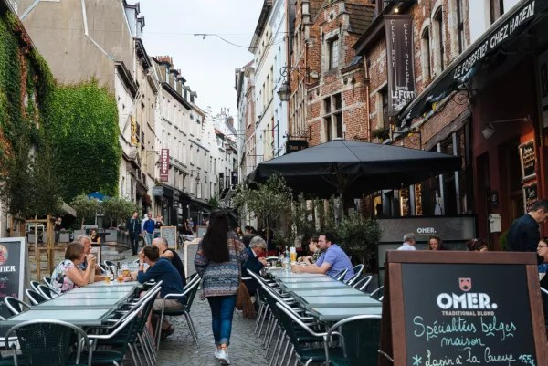 Fotos de Bruselas, rue de Rollebeek