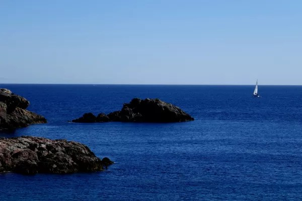 Fotos de Cabo de Palos en Murcia, Mediterraneo y velero