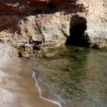 Fotos de Cabo de Palos en Murcia, gente en la cala