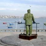 Fotos de Cascais en Portugal, estatua Rey Carloa I