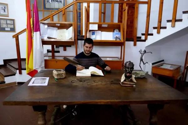 Fotos de Castilla La Mancha, Pau e n el Museo Cervantino de El Toboso