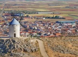 Fotos de Castilla La Mancha, los molinos de Consuegra